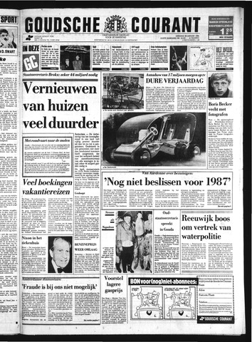 Goudsche Courant 1986-01-28