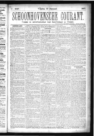Schoonhovensche Courant 1917-01-12