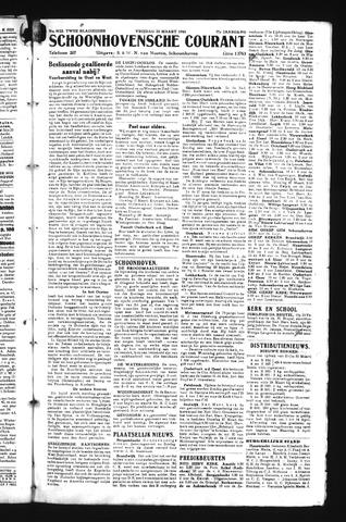 Schoonhovensche Courant 1945-03-23