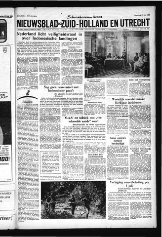 Schoonhovensche Courant 1962-06-27