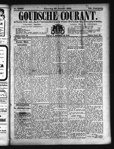 Goudsche Courant 1916-01-22