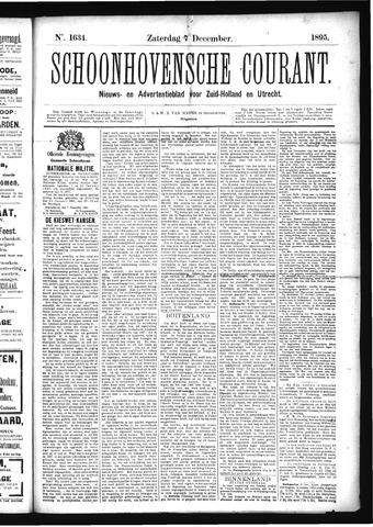 Schoonhovensche Courant 1895-12-07