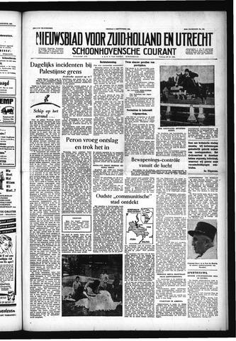 Schoonhovensche Courant 1955-09-02