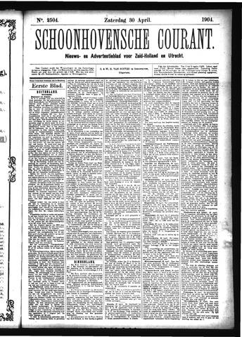 Schoonhovensche Courant 1904-04-30
