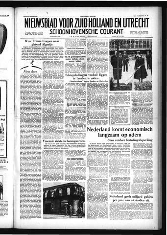Schoonhovensche Courant 1958-06-11