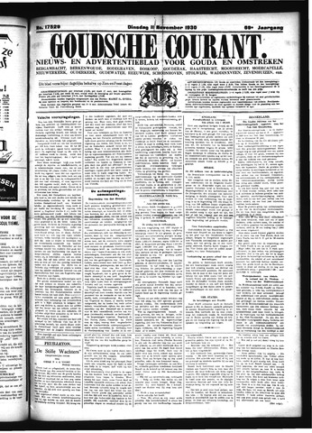 Goudsche Courant 1930-11-11
