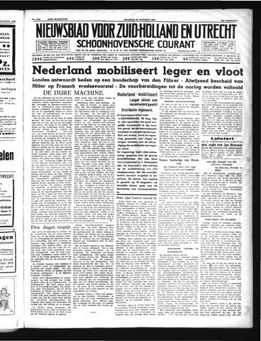 Schoonhovensche Courant 1939-08-28
