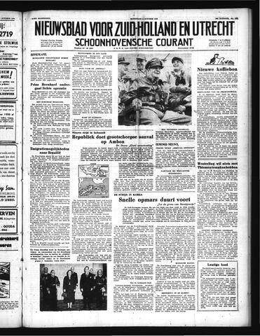 Schoonhovensche Courant 1950-10-04