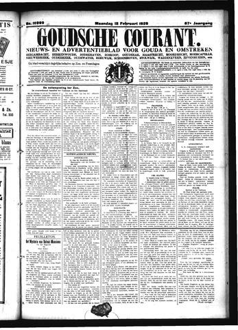 Goudsche Courant 1929-02-18