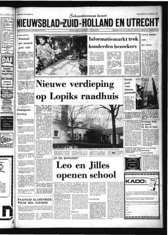 Schoonhovensche Courant 1975-04-14