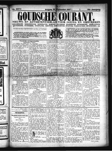 Goudsche Courant 1927-09-30