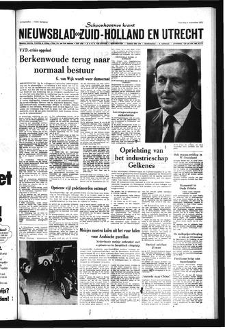 Schoonhovensche Courant 1971-09-06