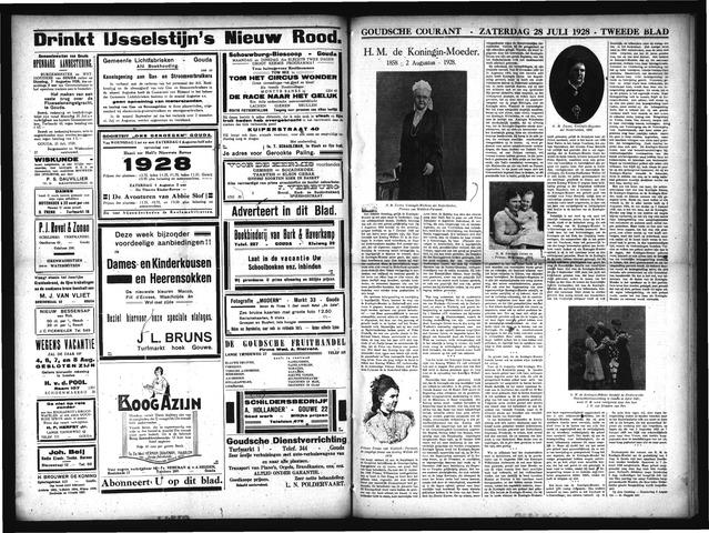 Goudsche Courant 1928-07-28