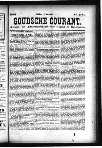 Goudsche Courant 1888-11-11