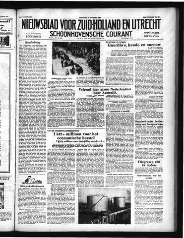 Schoonhovensche Courant 1950-11-15
