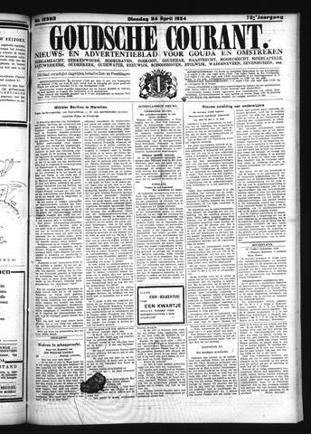 Goudsche Courant 1934-04-24