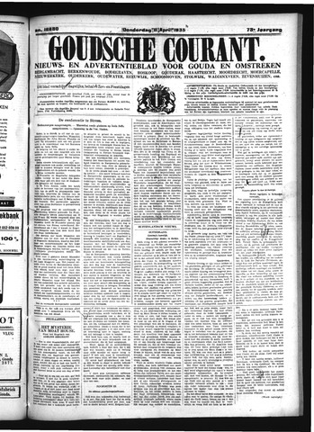 Goudsche Courant 1935-04-11