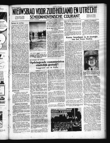 Schoonhovensche Courant 1950-07-14