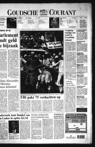 Goudsche Courant 2001-09-19