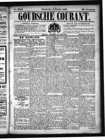 Goudsche Courant 1918-10-03