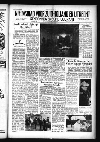 Schoonhovensche Courant 1956-08-31