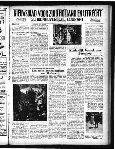 Schoonhovensche Courant 1950-06-12