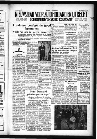 Schoonhovensche Courant 1954-09-29