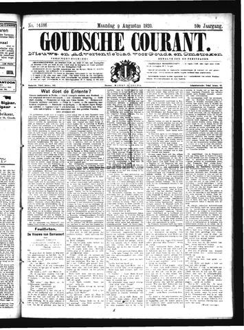 Goudsche Courant 1920-08-09