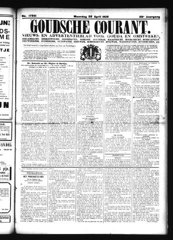 Goudsche Courant 1929-04-22