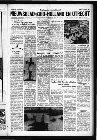 Schoonhovensche Courant 1960-08-12