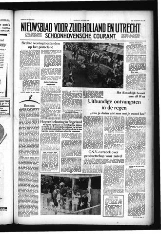 Schoonhovensche Courant 1955-10-21
