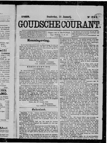 Goudsche Courant 1869-01-21