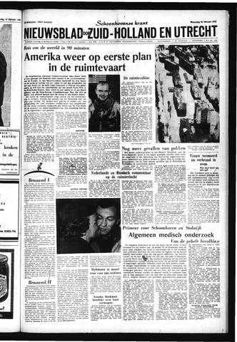 Schoonhovensche Courant 1962-02-21