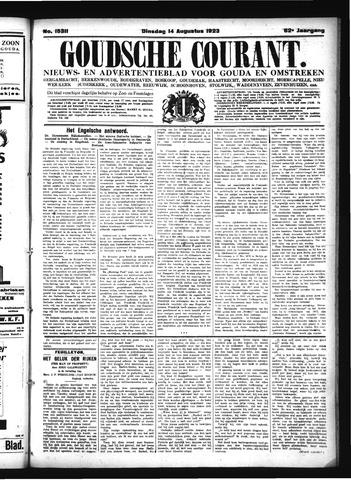 Goudsche Courant 1923-08-14