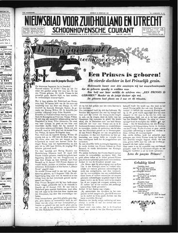 Schoonhovensche Courant 1947-02-18