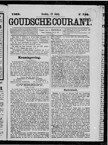 Goudsche Courant 1869-06-27