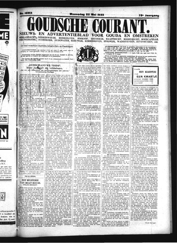 Goudsche Courant 1935-05-22