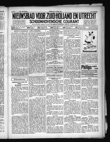Schoonhovensche Courant 1938-01-26