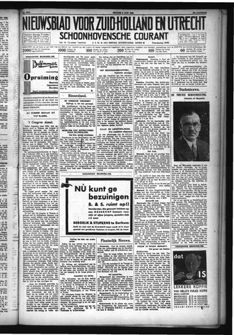 Schoonhovensche Courant 1932-06-03