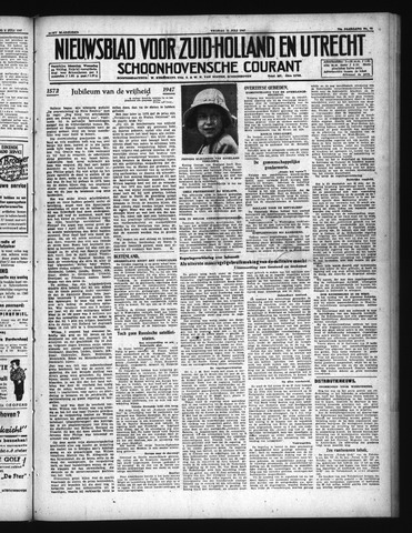 Schoonhovensche Courant 1947-07-11