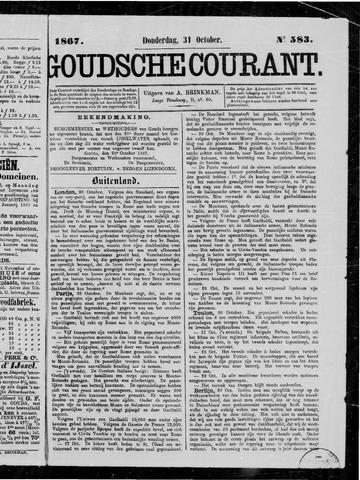 Goudsche Courant 1867-10-31