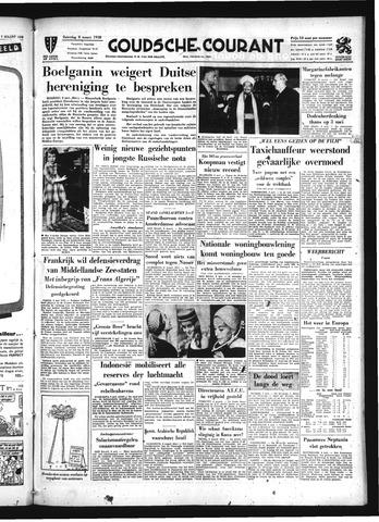 Goudsche Courant 1958-03-08