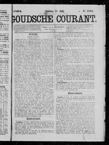 Goudsche Courant 1864-07-31