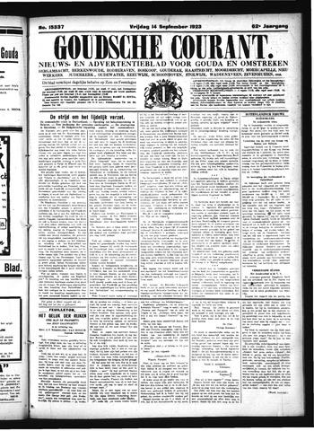 Goudsche Courant 1923-09-14