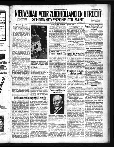 Schoonhovensche Courant 1950-09-13