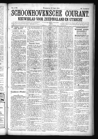 Schoonhovensche Courant 1926-06-23