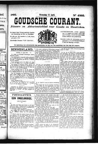 Goudsche Courant 1891-04-15
