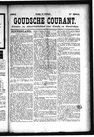 Goudsche Courant 1884-02-24