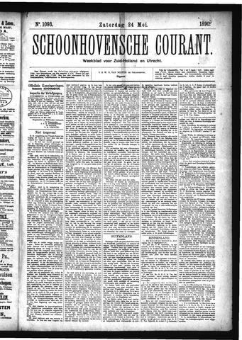 Schoonhovensche Courant 1890-05-24