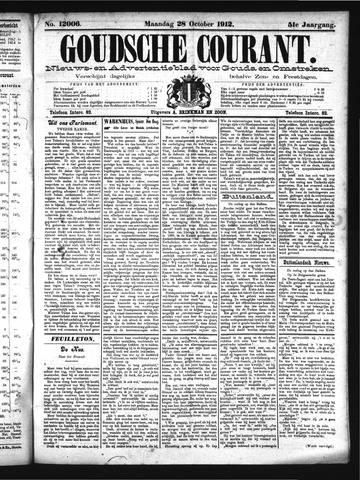 Goudsche Courant 1912-10-28